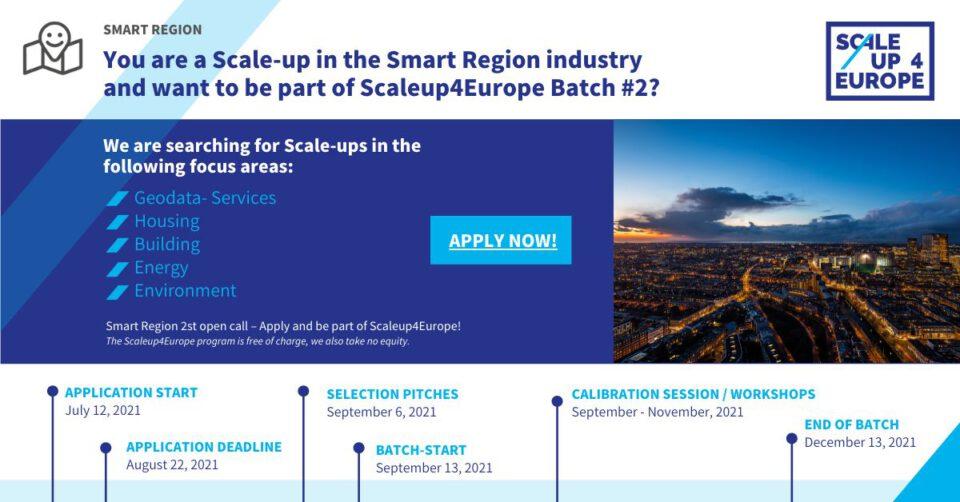 Smart Region Batch#2 open!